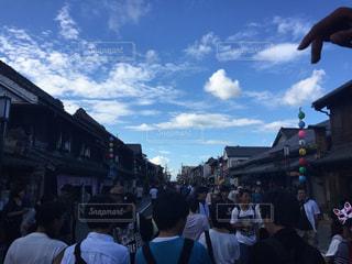 小江戸の青空の写真・画像素材[918730]