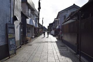 小江戸の石畳の写真・画像素材[918731]