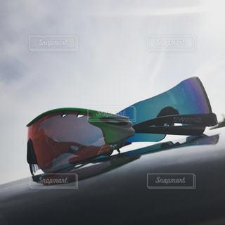 サングラスと空の写真・画像素材[2198499]