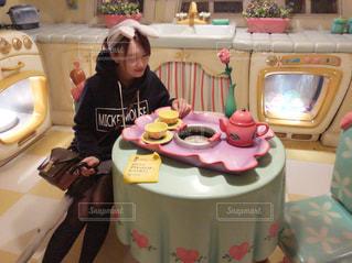 ミニーちゃんの家でティータイム - No.917101
