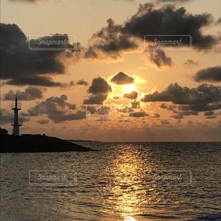 沖縄の夕日 - No.917133
