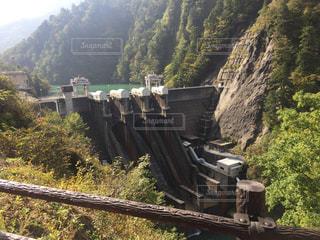 小さなダムの写真・画像素材[919395]