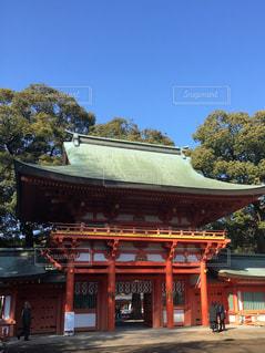 大宮氷川神社にての写真・画像素材[984685]