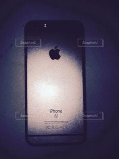 スマートフォンのアップの写真・画像素材[1000508]