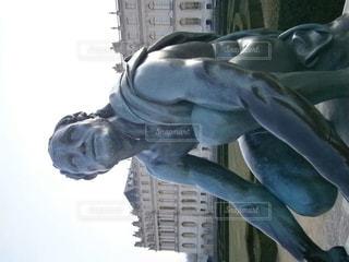 ベルサイユ宮殿の銅像の写真・画像素材[931006]