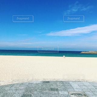 海の横にある砂浜のビーチ - No.918263