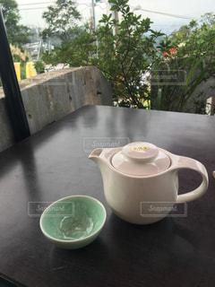 テーブルの上の台湾茶の写真・画像素材[918706]