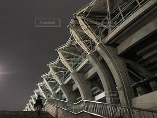 夜のユアテックスタジアム仙台の写真・画像素材[919125]