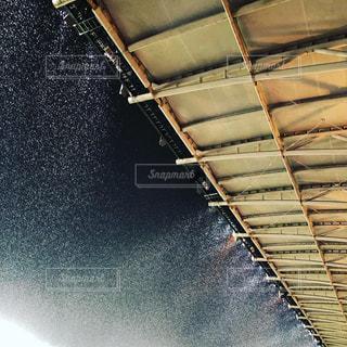 雪のスタジアムの写真・画像素材[2076165]