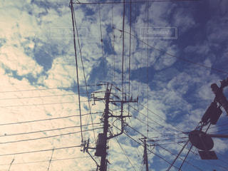 ある日の空。の写真・画像素材[1661913]