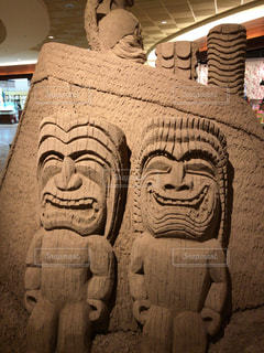 ハワイの神様。ティキの写真・画像素材[1459513]