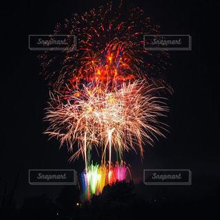 夜空の花火の写真・画像素材[920091]