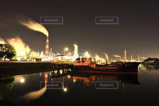 四日市の工場地帯の写真・画像素材[924298]