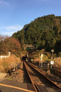 関西本線運休中の写真・画像素材[921958]