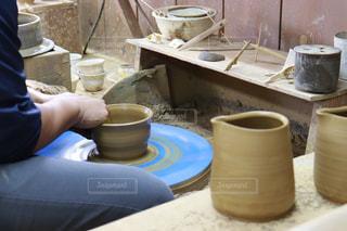 ものづくり 陶芸の写真・画像素材[2807744]