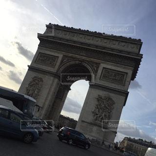 凱旋門の写真・画像素材[920821]