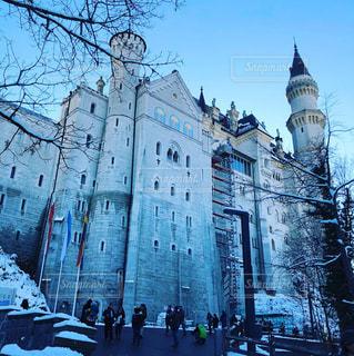 ノイシュバンシュタイン城をしたから望むの写真・画像素材[920844]