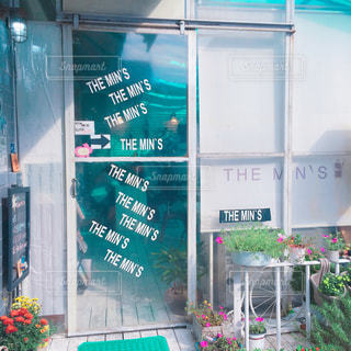BTSの通う THE MIN'S CAFEの写真・画像素材[1805159]