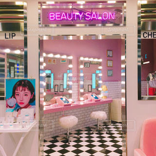 3ceのbeauty salonの写真・画像素材[1822721]