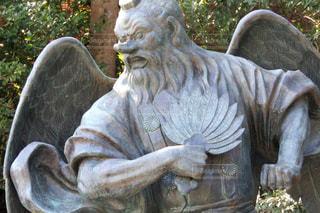 高尾山の天狗像の写真・画像素材[990505]