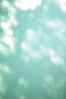 木漏れ日を映し出す壁の写真・画像素材[1805325]