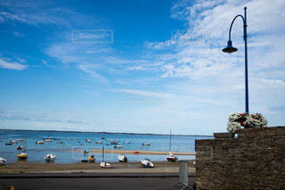 フランス ブルターニュの海の写真・画像素材[931847]