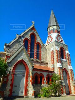 近くに教会のアップ - No.923290