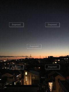 夜の街の景色の写真・画像素材[981398]