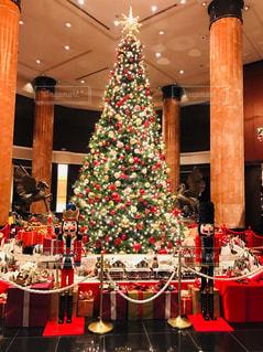 ウェスティンホテルのクリスマスツリー2の写真・画像素材[1641121]