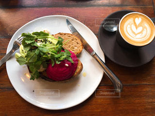 カフェの朝食の写真・画像素材[1649788]