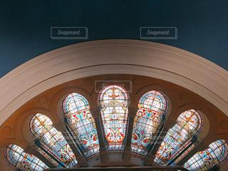 美しいステンドグラスの写真・画像素材[1649837]