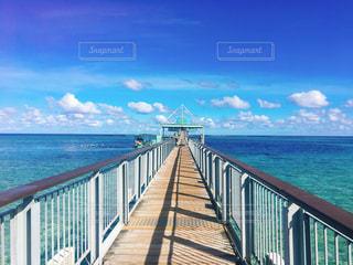 グアムの桟橋の写真・画像素材[1651972]
