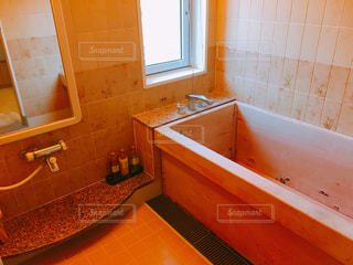 ヒノキ風呂の写真・画像素材[1652561]