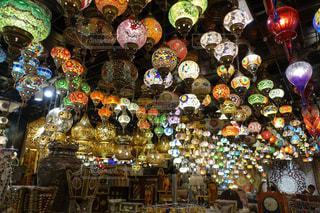 ランプやさんの写真・画像素材[1040068]
