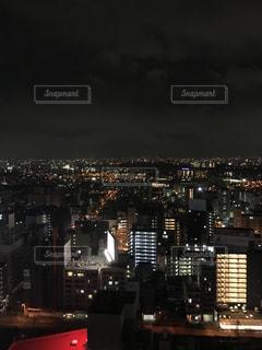夜の街の景色の写真・画像素材[924002]