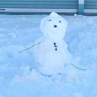 ミニ雪だるまの写真・画像素材[975297]