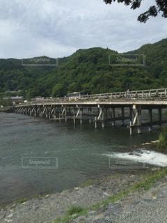 渡月橋の写真・画像素材[924867]