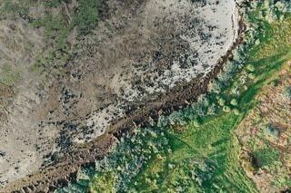 地球の断面の写真・画像素材[3843934]