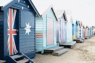 Brighton Bathing Boxiesの写真・画像素材[3855390]