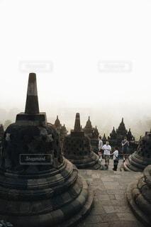 仏塔の写真・画像素材[3969093]