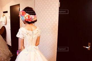 ウェディング ドレスの人の写真・画像素材[985169]