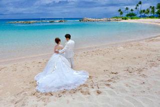 ハワイ挙式の写真・画像素材[1078322]