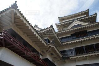 松本城の天守閣を下から眺める その2 - No.1006743