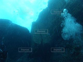 海底遺跡  二枚岩の写真・画像素材[926395]