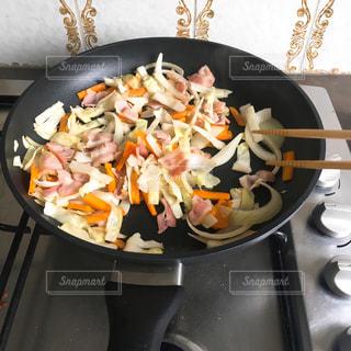 野菜炒めの写真・画像素材[1684244]