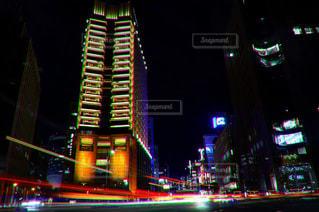 車通りの多いい場所の写真・画像素材[927544]