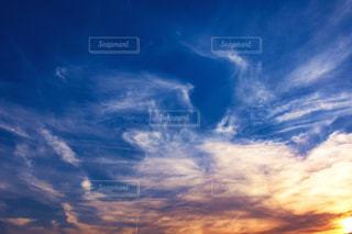 夕焼け空の写真・画像素材[938683]