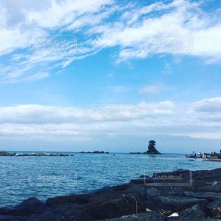 雨晴海岸の写真・画像素材[927920]