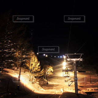 ナイトスキー場の写真・画像素材[937055]