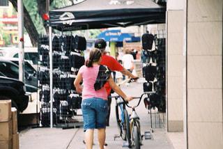 自転車の写真・画像素材[670290]